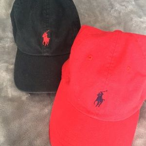 Red or Black Polo Hat!